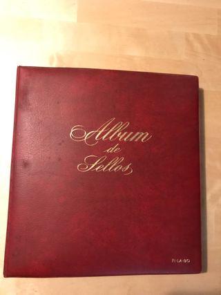 Album de sellos españoles 1974 al 1983
