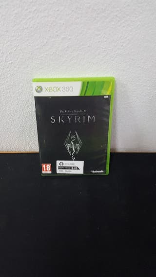 Juego Skyrim X360