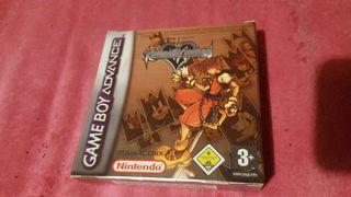 Juego Kingdom Hearts Chain of Memories GBA