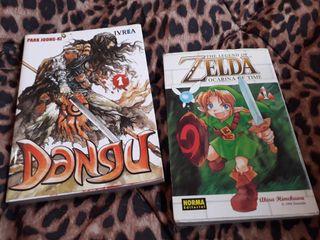 Pack 2 comics Manga - Zelda + Dangu vol 1