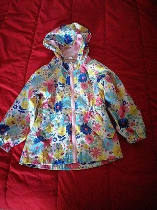chaqueta 3/4años niña