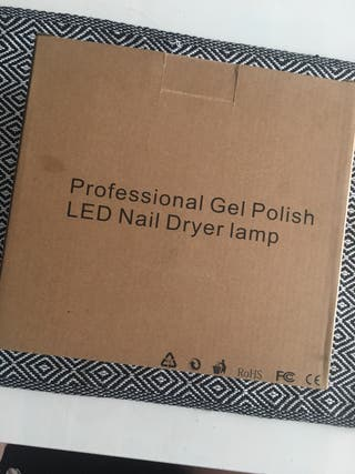 lámpara UV para uñas con temporizadores