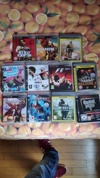 11 Videojuegos PS3