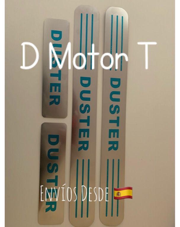 Set umbrales Dacia Duster Metal