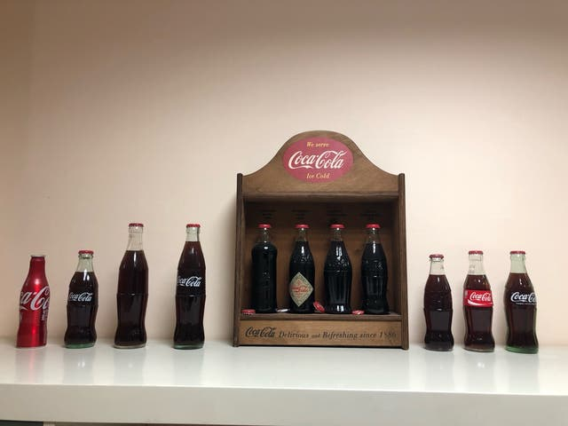 Botellas coca-cola