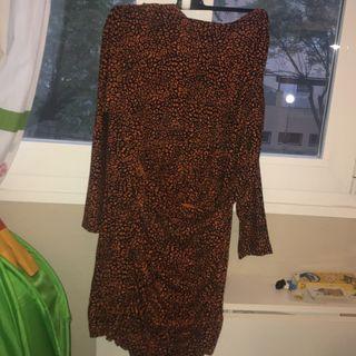 Vestido leopardo bimba y Lola