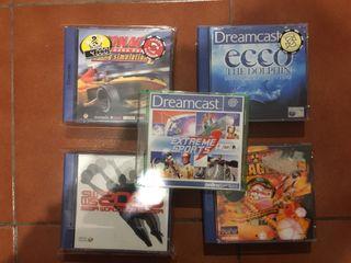 Lote juegos Dreamcast