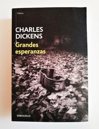 """Libro """"Grandes Esperanzas"""", Charles Dickens."""