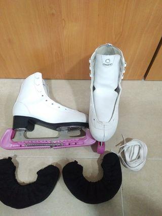 patines hielo niña 35 afilados