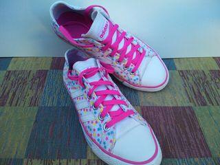 Zapatillas Adidas Blancas y Rosa Talla 37