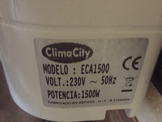 Radiador - eléctrico 1500W