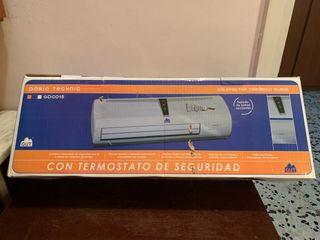 Calefactor ceramico con termostato por estrenar