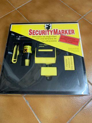 Marcador de seguridad