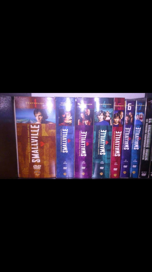 Serie Smallville temporadas 1,2,3,4,5,6,7,8,9.