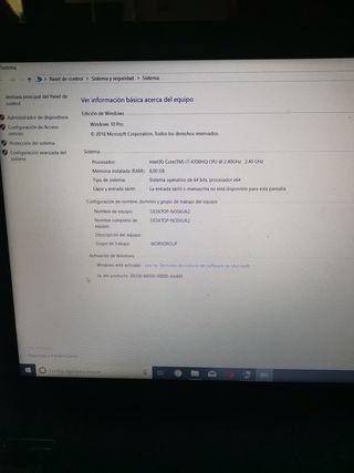 Portátil gaming msi ge60 2pc i7