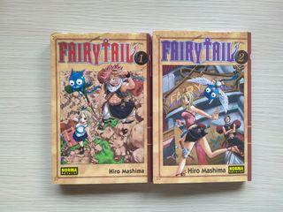 Fairy Tail Tomos 1 y 2