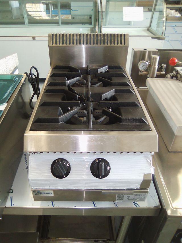 cocina 2 fuegos sobremesa