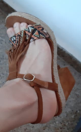 "sandalias ""Gloria Ortiz""37 nuevas"