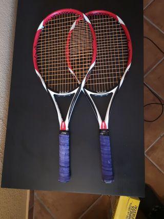 dos raquetas Wilson k bold. casi nuevas