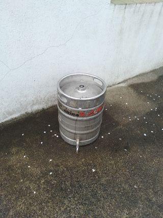 Bidon metal cerveza/sidra