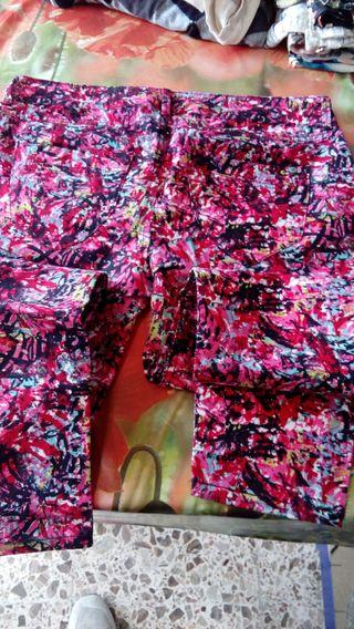 Pantalon multicolor muy comodo