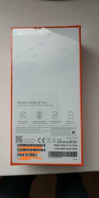 Xiaomi redmi note 6 pro 4/64
