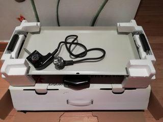 Plancha de cocina eléctrica.