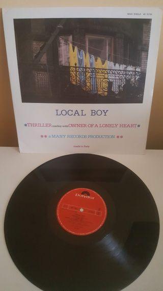 Disco vinilo Local Boy, 1984 80's remember