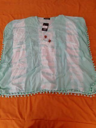 Camisa Playa verde Señora (Art. Nuevo)