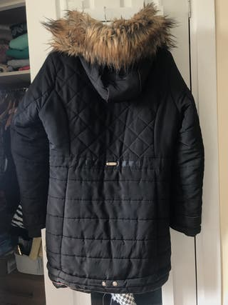 Black warm coat!