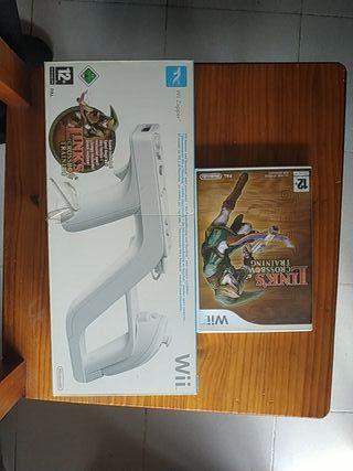 Juego WII /Zelda Link's Crossbow + wii zaper