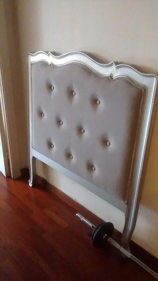 Cabecero de cama individual 80/90 cms