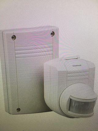 Detector de novimientos por infrarrojos