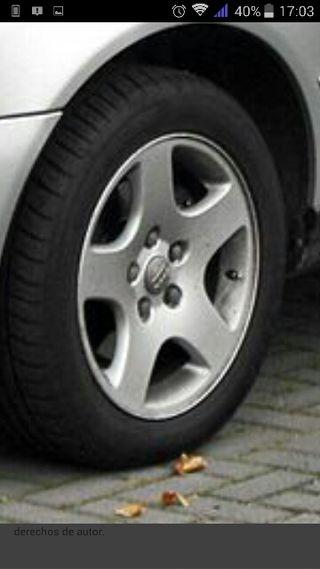 yantas con neumáticos para audi