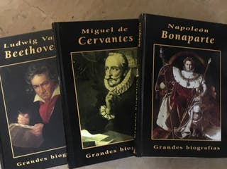Libros Beethoven, Cervantes y Bonaparte