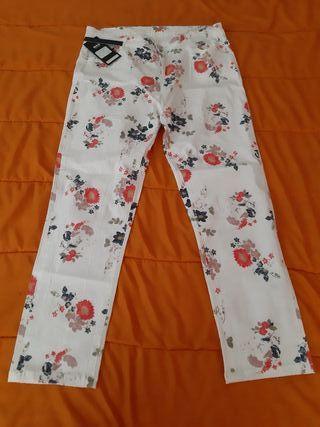 Pantalón Tela Señora Blanco (Art. Nuevo)