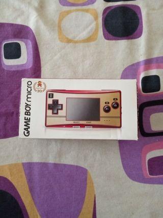GameBoy Micro Limited Happy Mario 20th Favicon