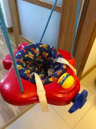 Columpio-saltador de bebe jané