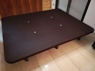 Base cama tapizada matrimonio