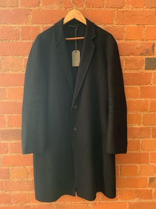 Black All Saints (Foley Coat) Size M