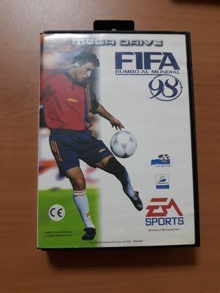 Juego FIFA 98 MEGADRIVE
