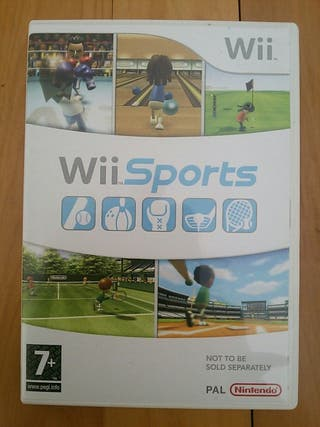 Juegos Wii (Wii Sports)