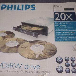 DVD y Grabador Philips