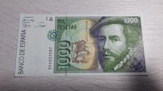 Billete de España de 1000 Pesetas de 1999