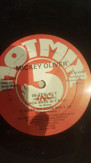 Disco Vinilo remember, Mickey Oliver - In-Ten-Si-T