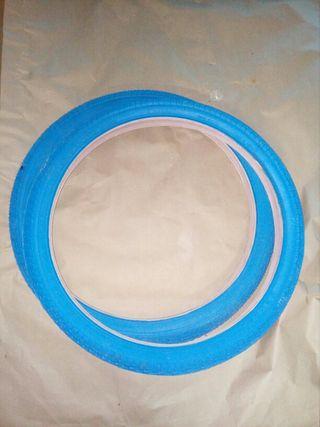 Cubiertas 20 bmx azules