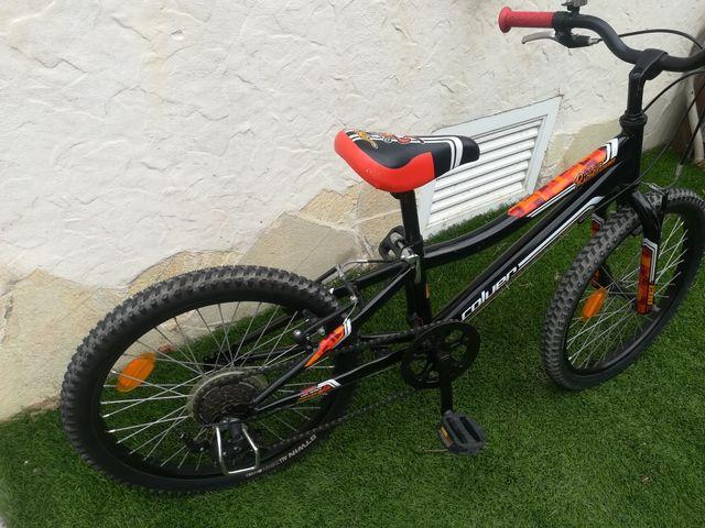 bicicleta infantil coluer 20 pulgadas.