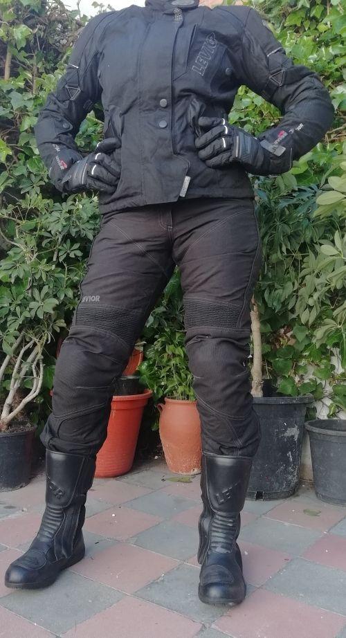 moto mujer