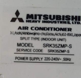 aire acondicionado Mitsubishi heavy industries