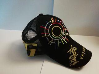 Gorra nueva Valentino Rossi negra
